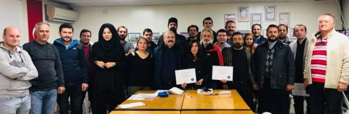 2018 Yılı ücretsiz amatör telsizcilik sınavı eğitimlerimizde %95 sınav başarısı elde edildi…