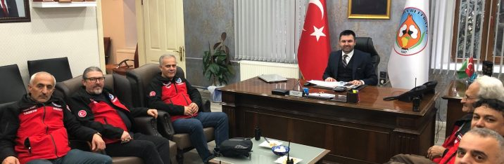 Pamukova Belediye Başkanı Sn. İbrahim Güven Övün'ü SAKRAD olarak ziyaretimiz