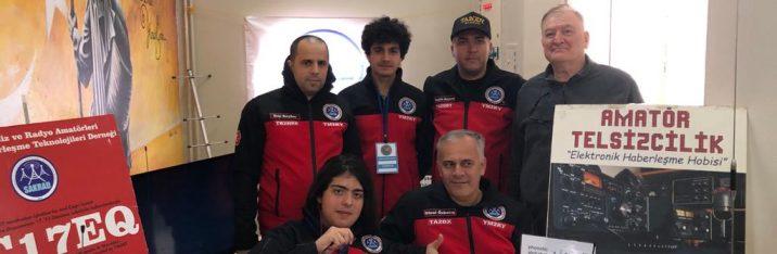 Yunus Emre Anadolu Lisesindeki Amatör telsizcilik kulübü etkinlikleri